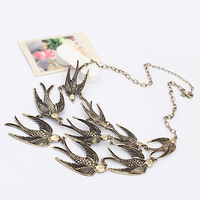Min Order 15$ Free Shipping New Arrival Western Style Swallow Chains Necklace Good Quality Wholesale Hot HG0079