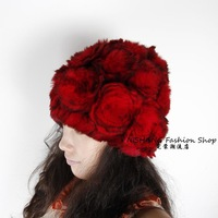Real Rex Rabbit Fur Cap ~Fashion Hat WHOLESALE / RETAIL  DROP SHIPPING