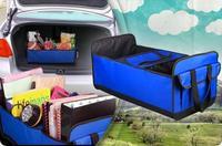 Retail 1pc Free shipping Trunk genie car storage trunk storage pack folding tool box auto supplies bag as seen on TV