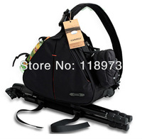 wholesale Free shipping new fashion casual DSLR Camera Bag Messenger Shoulder Bag For Nikon Sony Canon