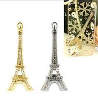 Free shipping-5pcs/lot 86*37MM 2colors diy accessory Ancient bronze Eiffel Tower,Jewelry pendant,jewelry fittings