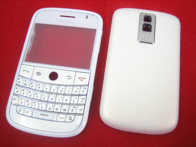 Replacement Cover Housing For BlackBerry Bold 9000 White(Hong Kong)