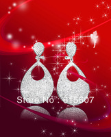 HME026 new silver jewelry earrings,  ladies' earrings