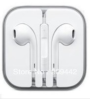 New 3.55mm  Earphone for IPhone5 Volume Remote Control  In-Ear Headset for Iphone5