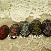 2012 New Style Free shipment 30*40mm Resin Cameo Cabochon Necklace Pendant Wholesale 50PCS/LOT