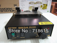 Free shipping ATTEN AT853A Automatic Temperature Control Hot Air Preheating Station BGA Rework Station