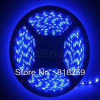PCB Black Waterproof 5M IP65 5050 SMD Blue 300 LED Strip Car Light 60leds M