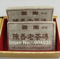 Free Shipping! More Than 20 Years Aged Puer Tea, 90's Old Pu'erh Tea, Yunnan Pu er Brick Tea