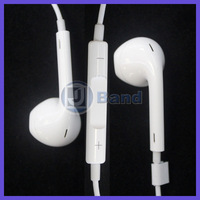 2pcs/lot 1:1 3.5mm stereo earphone for ipod iPhone touch 5 5g Nano 6 earbuds,Earpods earphone headphones Free shipping