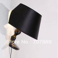 Milan Design Resin Titanic Wall light+Free shipping,Fabric Lampshade Bedroom lamp WL037