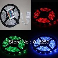 Waterproof 30LED M 5050 RGB 5M Flexible LED Strips Light 24KEYS IR Controller