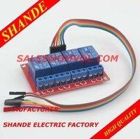 5V,12V or 24V 4 Channel Relay Module Unit + 30CM cables
