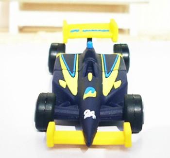 Free shipping 10pcs/lot cartoon racing car Usb flash drive Real capacity 1GB 2GB 4GB 8GB 16GB F1 usb key