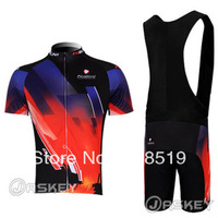 2012 black+red NALINI Short Sleeve Cycling Jersey /cycling clothing+ Bib Shorts .8294