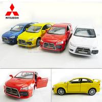 4 soft world MITSUBISHI lancer evo WARRIOR car alloy car model toy