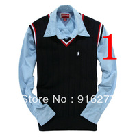 low price promotion classical fashion male sweater sweater vest/sweater jacket coat free shipping