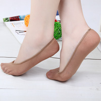 Sock slippers female invisible shallow mouth ultra-thin velvet sweat absorbing breathable invisible ankle sock