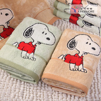 SNOOPY 100% cotton towel washouts comfortable soft cartoon