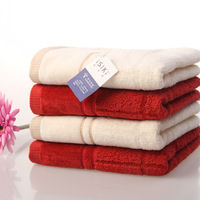 100% cotton none twist towel washouts square grid soft absorbent lovers towel