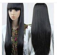 new women's long full curly/wavy hair wig fashion 2014