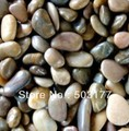 cobblestone ,river stone ,colorful stone ,Garden decoration stone , Size :2 cm - 5 cm (about)  ,Stone irregular shape ,(China (Mainland))