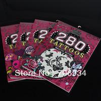 Kids Temporary Tattoos Designs Tattoo Stickers Waterproof 7sets/lot Tattoo Designs Free Sleeve