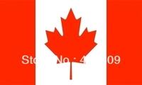Free shipping CANADA FLAG FULL SIZE 150X90 CANADIANS,MAPLE LEAF