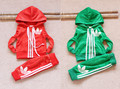 2013 spring baby child children male child baby hooded velvet set(China (Mainland))