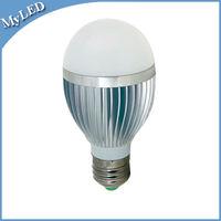 Hight Luminous 3w/4W/5W/7W/9W/12W LED Bulb Bubble Ball Bulb Lamp E14 E27 B22 With Warm/Cool white