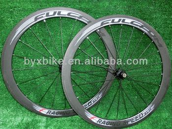 wholesale-FULCFUM RACING SPEED XLR  50mm carbon wheelset clincher/ tubular+novatec hub+spokes+skewer