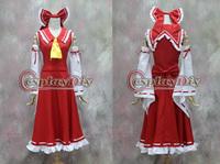 Freeshipping Reimu Hakurei cosplay costume from Touhou Project Cosplay
