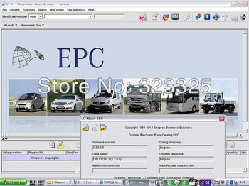 2013.11 MB Truck EPC  Mecredes-Benz truck  spare parts
