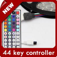 Free shipping  New Style 44 keys IR Remote RGB Controller + RGB, +BRG ,+BGR LED Strip  [LedLightsMap ]