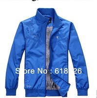 2013 spring and autumn new man fashion, the brand sports jacket, sports leisure coat.L ---4XL 8828