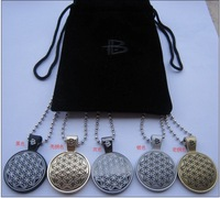 PB metal necklace  Power energy necklace 50pcs/pcs free shipping 5 colors in stock