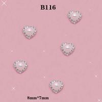 Juciy DIY 3D Alloy AB Rhinestones Particular Crystal Jewelry Inside Design Nail Art Tips Glitters Decorations Size:8*7mm # B116