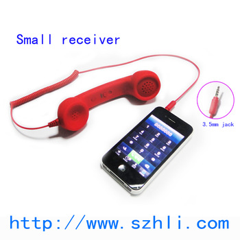 Radiation protection receiver mobile phone universal mobile phone receiver  611DS