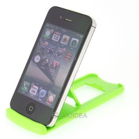 free shipping wholesale 3pcs GREEN Compact Folding Stand Holder Support for iPhone Cell Phone 80382 hot sale