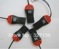 t-flash card reader,mini style.100pcs free shipping post free shipping instead of tnt