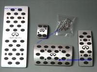 New Aluminium Alloy Foot Pedal Rest Plate INFINITI FX35 FX45 2003-2008 G35 2 door Coupe 2003-2007 G35 Sedan 2003-2006