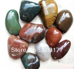 natural River stones,cobblestone,Rough polishing the original stone,Sizecan be divided into three specifications:2-3cm3-5cm5-7cm(China (Mainland))