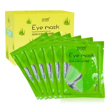 PILATEN  Aloe nourish the skin around the eye Mask , Eyelid Patch,Replenishment Stretch eye Mask,anti wrinkle moisture