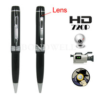 HOT! 720P HD Pen DVR With Hidden Camera Support Video Audio Photograph And Webcam Free Shipping