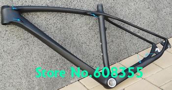 "FR-216  - Full Carbon UD Matt 29ER MTB Mountain Bike Bicycle Frame , Headset  -  17"", 19"""