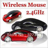 2.4GHz USB Wireless RF Optical Mouse Car Auto mode Blue-ray Mice - Computer Laptop MAC WIN7 XP Vista OS