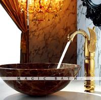 2015 Basin Faucet Cozinha Para Banheiro Quality Guarantee Solid Animal Shape Tall Swan Faucet- Polished / Bath & Kitchen Store