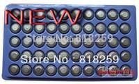 Cheap New 50pcs AG13 Button Cell Battery AG 13 G13 LR44 A76 A freeshipping