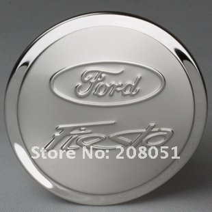 free shipping! Ford Fiesta stainless steel tank cover fuel tank cap auto gas cap(China (Mainland))