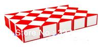 Free shipping 60 Blocks Magic Snake Ruler Cube Puzzle Children Education Imagination Game Toy Gift