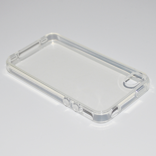 Crystal Clear Silicon TPU Soft Full Cover Case For Apple iPhone 4 4S 4G New.Free shipping(China (Mainland))